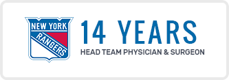 14 Years Head Team Physician & Surgeon